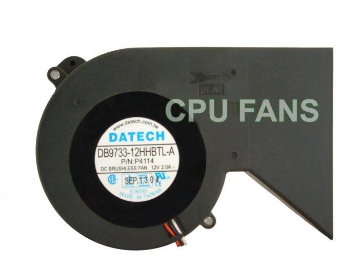 Dell Optiplex GX260 CPU Heatsink Fan K4598 Dell 3-pin plug