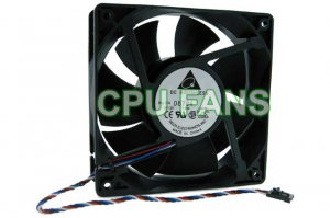 Dell Precision Workstation 380 Front CPU Case Cooling Fan 120x38mm 5-pin/4-wire