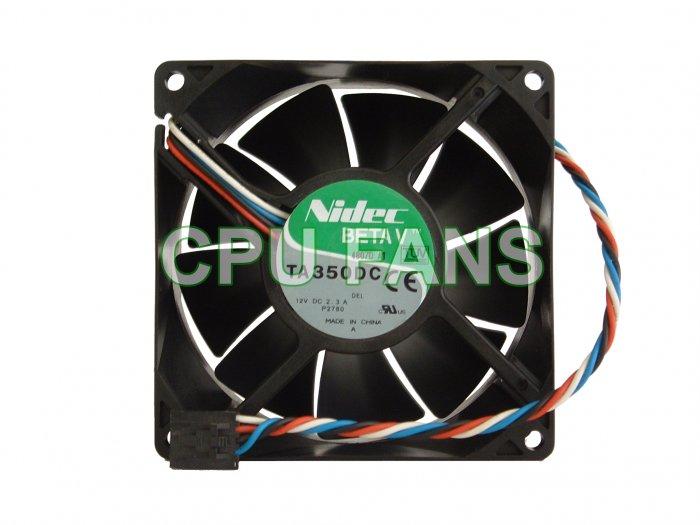 Dell Optiplex GX280 Case Cooling Fan PWM Control 92x38mm 5-pin/4-wire
