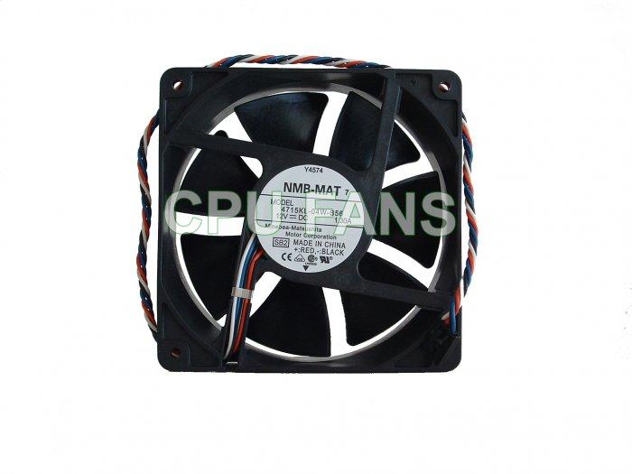 Dell Fan Optiplex GX520 Tower Case Cooling Fan Y4574 G9096 120x38mm 5-pin/4-wire
