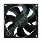 HP Pavilion A1257C CPU Processor Heatsink Fan EG136AA EG136AAR 80mm x 25mm 4-pin