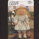 Vogue Craft 8240 Vogue Doll Collection Designed by Linda Carr 1990s