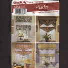 Simplicity 5342 Home Decorating Shades The Latest in Window Décor Sewing Pattern