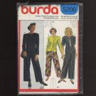 Burda 5206 Sewing Pattern Misses Jacket and Pants Sizes 10 – 20  1980s