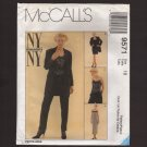 McCall's 9571 Misses Lace Camisole, Long Jacket, Pants, Slinky Dress Sewing Pattern Bust 40 1990s
