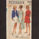 Butterick 4929 Misses A-line dress and Semi-fitted Jacket Sewing Pattern 4-H Uniform Bust 34 1960s