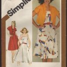 Simplicity 9892 Misses Fitted Sundress Bolero Jacket Sewing Pattern Size 12 Bust 34 1980s