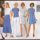 Butterick 4892 Misses Dress Top Skirt and Pants Sewing Pattern Sz 6-12 Bust 30.5 31.5 32.5 34 1990s