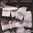 Tea Time Towels Cross Stitch borders by Diane Brakefield Leisure Arts Leaflet 2302