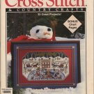 Cross Stitch & Country Crafts Sept/Oct 1992 American Barns, Winter Afghan, Ice Skaters Magazine