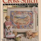 Cross Stitch & Country Crafts Magazine Jan/Feb 1992 Valentines, Handkerchief Dolls, Ribbon Floss