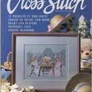 For The Love of Cross Stitch Magazine May 1990 Musical Bouquet, Santa's Express, Bunnies and Bears