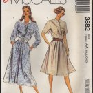 Misses Blouse and Skirt McCall's 3582 Sewing Pattern Size 6 8 10 12 Bust 30.5 31.5 32.5 34 1980s