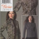 Vogue 8332 Reversible semi-fitted Jacket Divine Details Snap Front Bust 36 38 40 42 Sewing Pattern