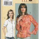 Vogue 7903 Button Front Semi-fitted shirt with 2 sleeve lengths D, E, F Bust 38 40.5 43 2004