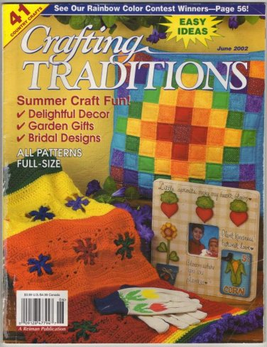 Crafting Traditions May / June 2002 Vol. 20 No. 5 Summer Craft Fun 41 Country Crafts