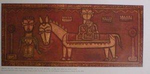 "Jamini Roy ""Flight to Egypt"" Indian contemporary art Bengal School"