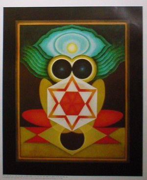 Tantric art by G R Santosh Indian contemporary art