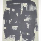 untitled by Lalu Shaw- Signed limited edition Lithograph Indian Contemporary art