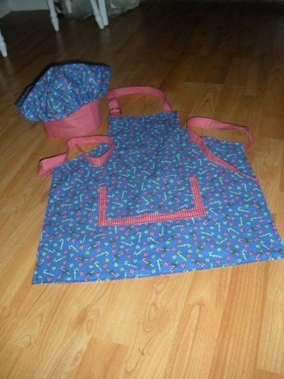 Apron and Chef Hat