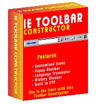 IE Toolbar Constructor