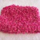 Hand-knitted kids hat, pink