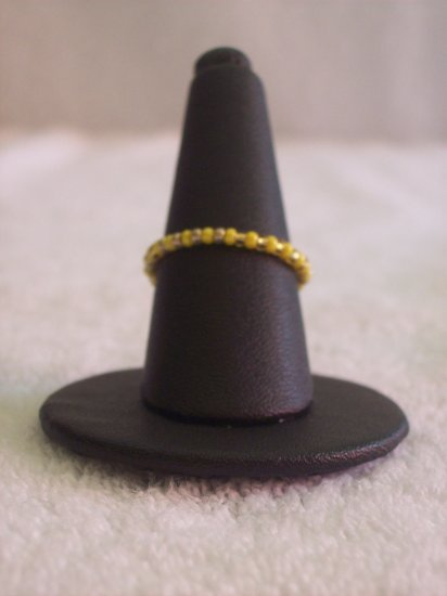 Simple ring, yellow and gold