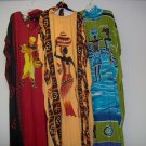 kaftan for adule female,free size,multi colors of gold,red,beige,blue,w/elephant,floral,design