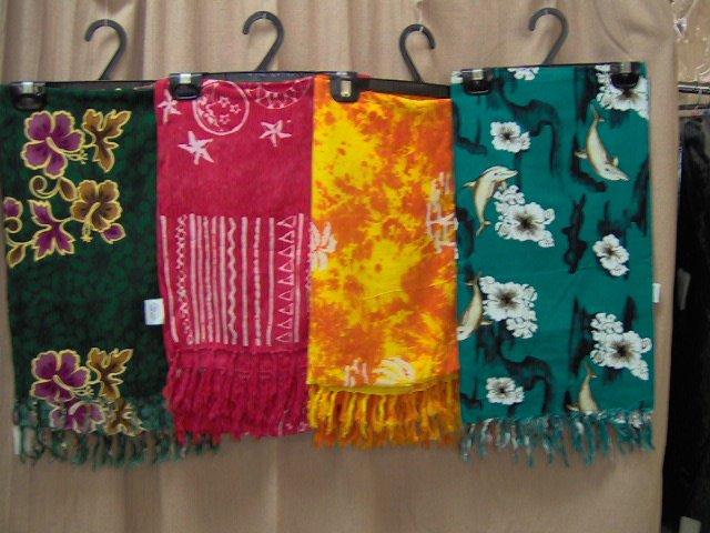 Coat scarves and wraps (beach wraps)