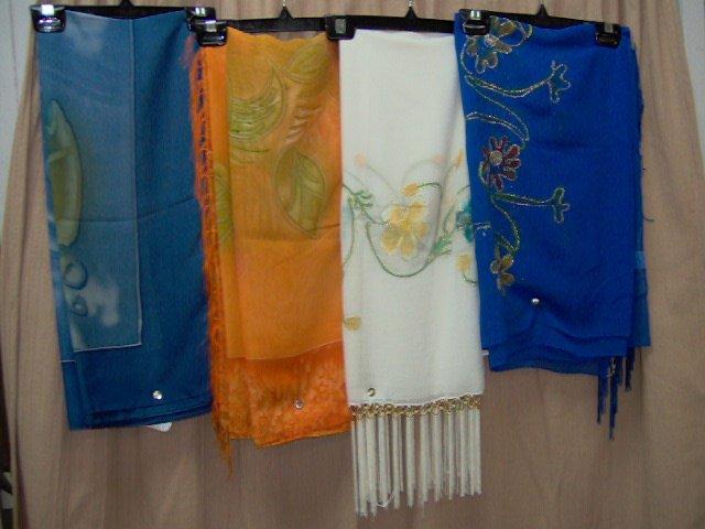 Shawls/beach wraps/wrap skirts