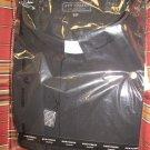 black satin shirt set for adult male, come w/shirt/hankie/tie size 16.5x34/35