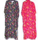 female fully cut print rayon dress, one/size fit most,length fit below calf or to ankle