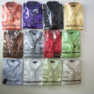 men satin shirts