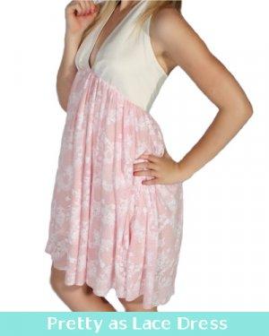 Pretty as Lace Dress