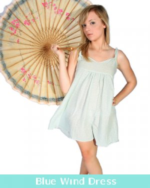 Blue Wind Dress