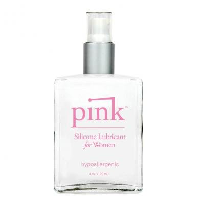 Pink Silicone Lube For Ladies