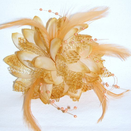 Amy Fascinator T10 Brown