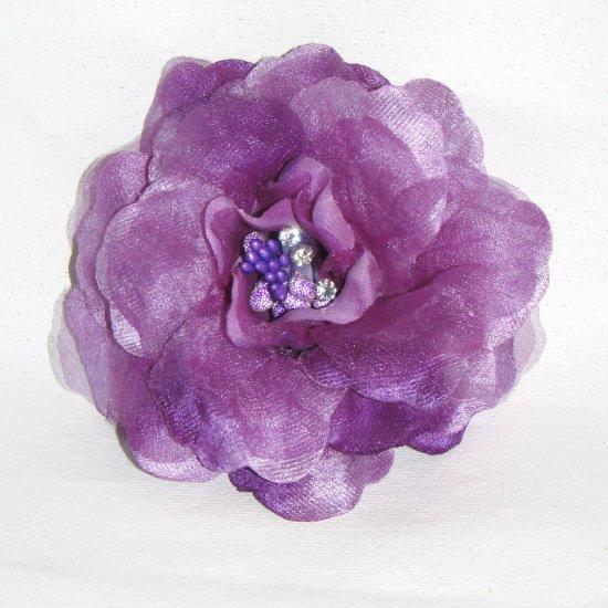 Diana Fascinator T15 Purple