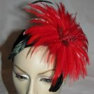 Joana Fascinator T28 Red