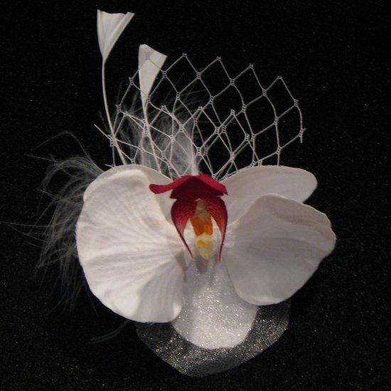Orchid Flower Fascinator