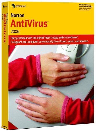 Norton Antivirus 2006 3 Pack