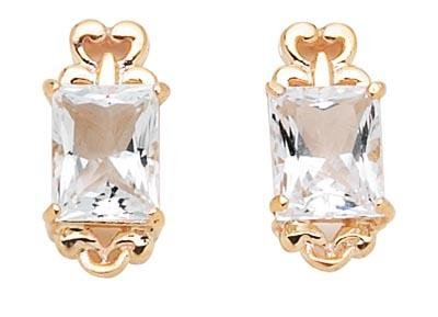 White Topaz Earrings  -  Retail  $183.95