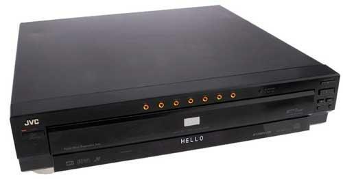 Jvc 7 Disc Dvd Player   -  Retail  $295.00