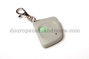 Multi Code 3060 & 3070 Compatible Single Button Mini Key Chain Garage Door Remote Control - 300 MHz