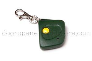 Stanley 1082 Compatible Single Button Mini Keychain Garage Door Opener Remote Control 310 MHz 108210