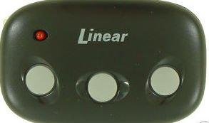 Linear DNT00089 Mega Code MCT-3: 3-Channel Visor Transmitter - LD033 LD050 LS050 Compatible MCT-2