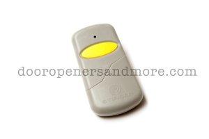 Multi Code 3089 Compatible Slim Garage Door Opener Remote 300 MHz MCS308911