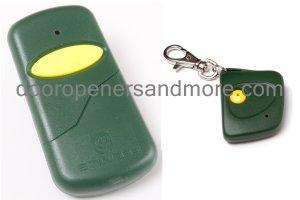 Stanley 1050 / 1082 Visor & Mini Key Chain Compatible Remote Control Combo - MCS105015