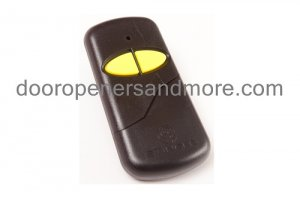 Linear DNT00017A Delta 3 DT-2A Compatible Slim Garage Door Transmitter / Remote