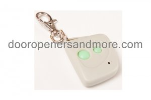 Multi Code 3083 100% Compatible 2 Button Keychain Garage Door Opener Remote Control - 300 MHz 308301